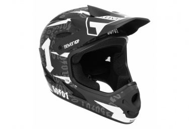 SEVEN M1 Full Face Kid Helmet 50:01 Black/White 2019