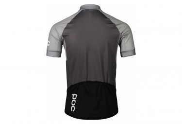 Poc Essential Road Short Sleeves Jersey Francium Multi Grey