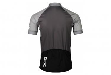 Poc Essential Road Short Sleeves Jersey Francium Multi Grey