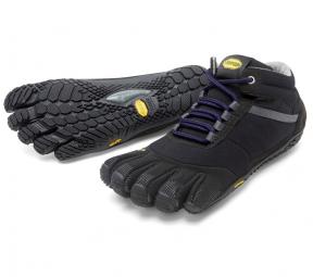 Image of Vibram fivefingers trek ascent insulated 15w5303 noir violet femme 37