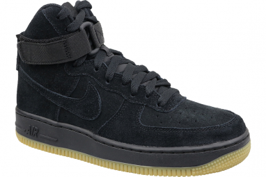 Nike Air Force 1 High LV8 Gs 807617-002 Garçon sneakers Noir