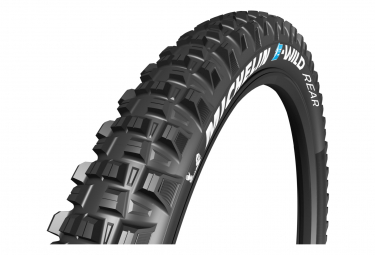 Michelin E-Wild Rear 27.5 Plus MTB Tire Tubeless Ready Folding Competition Line Gum-X