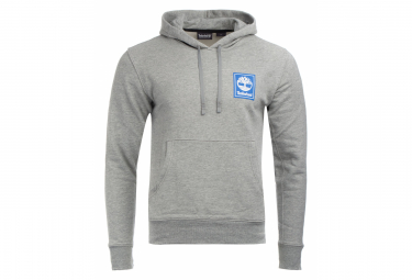 Sweat à Capuche Timberland YCC Hoody Stack Logo Gris
