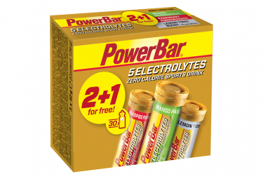 2 + 1 PowerBar Nergetic Drinks 5 Multi-Perfume Electrolytes 10 Tablets