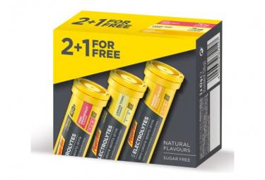 2+1 Boissons Énergetiques PowerBar 5 Electrolytes Multi-Parfum 10 Comprimés Effervescents