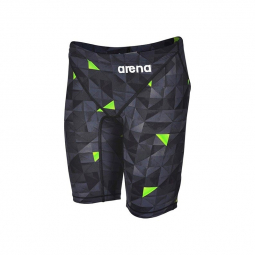 Image of Arena powerskin st 2 0 edition limitee black yellow jammer homme 60 cm