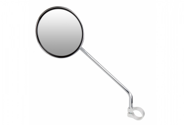 Ergotec M66L Rearview Miror Steel chromed