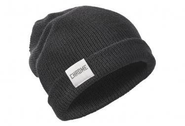 Bonnet Chrome Wool Curf Noir
