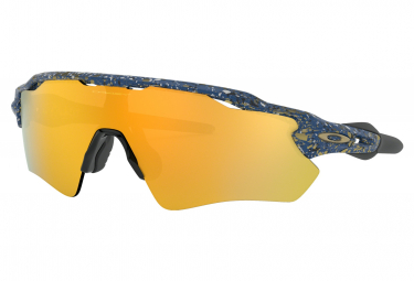 Oakley Sunglasses Radar Ev Path Metallic Splatter Collection / Splatter Poseidon / 24k Iridium
