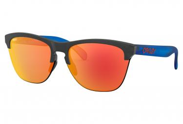 Oakley Sunglasses Frogskins Lite Maverick Vinales Signature Series / Matte Crystal Black / Prizm Ruby