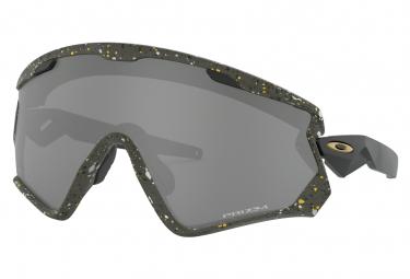 Oakley sunglasses wind jacket 2 0 metallic splatter collection splatter olive prizm black ref oo9418 1945