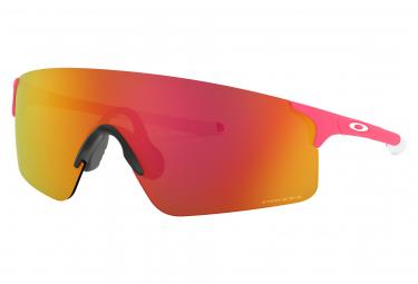 Oakley / EVZero Blades Brille / Matte Neon Pink / Prézm Ruby / 2019