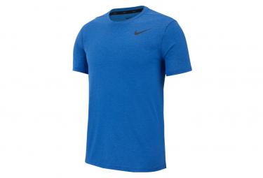 Nike Dri-Fit Breathe Short Sleeves Jersey Blue Men
