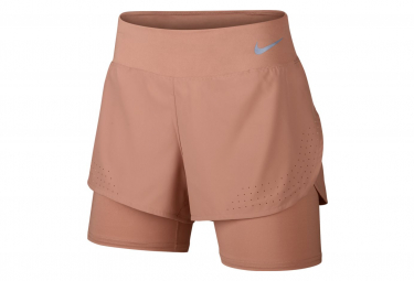 Nike Eclispe 13cm Short 2-en-1 Pink Women