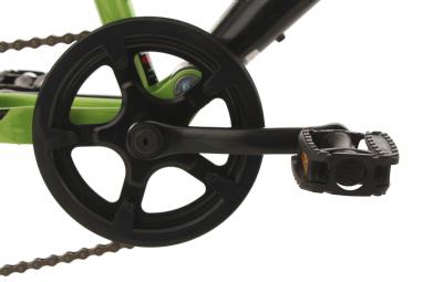 VTT Tout-Suspendu Enfant KS Cycling Zodiac 20'' Shimano Tourney 6V Vert Noir