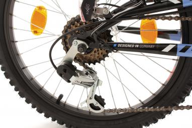 VTT Tout-Suspendu Enfant KS Cycling Zodiac 20'' Shimano Tourney 6V Bleu