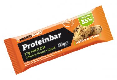 NamedSport Protein Bar Bar 50g biscotti e crema