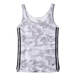 T-shirt Adidas Essentials 3 Stripes Paper Print W