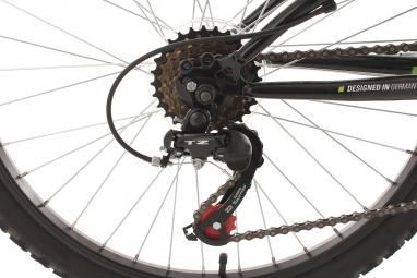 VTT Tout-Suspendu Enfant KS Cycling Zodiac 24'' Shimano Tourney 6V Vert