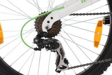 VTT tout suspendu 24'' 4Masters blanc-vert TC 42 cm KS Cycling