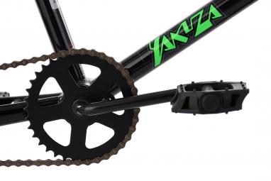 BMX Freestyle KSCycling Yakuza 20'' Noir Vert Fluo