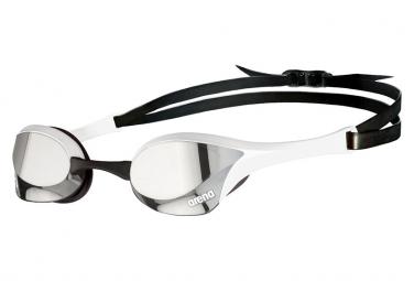 Arena Ultra Cobra Swipe Mirror Blanc Argent