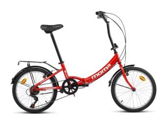 Bicicleta Pegable Moma Bikes First Class II 20'' 20'' Rouge