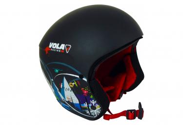 Casque De Ski Vola Racing Mountain Noir Fis