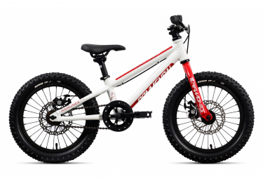 Commencal RAMONES 16 Kids Bike 16'' Blanc / Rouge