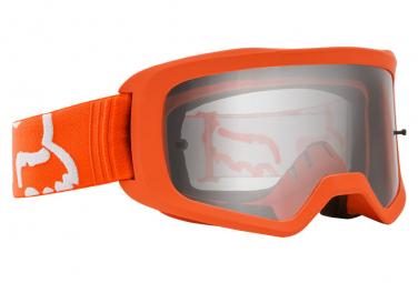 Maschera arancione Fox Main II Race Goggle