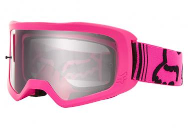 Fox Main Youth II Race Goggle Pink Mask
