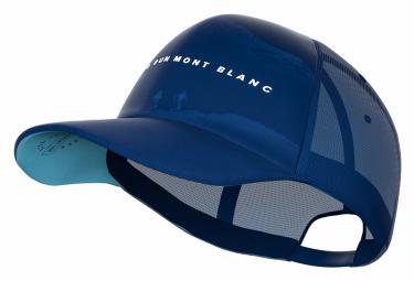 Casquette Compressport Trucker Cap Mont Blanc 2019 Bleu Unisex