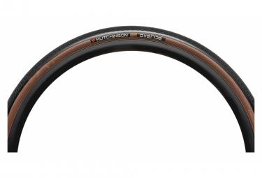 Hutchinson Overide Gravel Tire 700 mm Tubeless Ready Folding Hardskin Tan Sidewalls