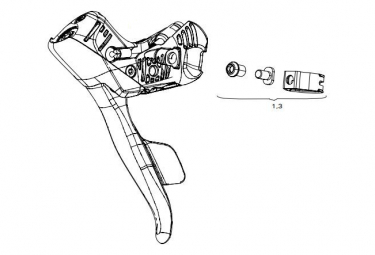 Sram Speed Kit de velocidad hidráulica AXS E-Tap E-Tap