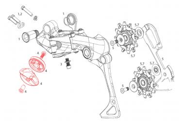 Bloque de rodillos SRAM XX1 / XO1 AR y kit de guía