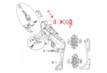 Sram Fastener Kit for D scarring Arri re Force