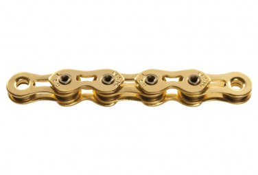 KMC K1SL 100 Chain Chains Narrow Ti-N Gold (BMX, Fixie, Track)
