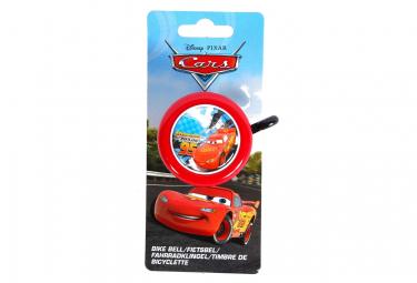 Sonnette metal ronde Cars velo enfant rouge