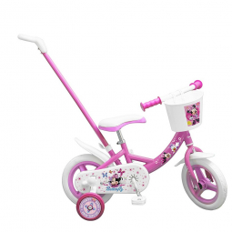 Image of Velo minnie mouse 10 pouces avec canne new