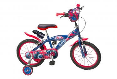 Vélo officiel Disney Spiderman 16 pouces enfant