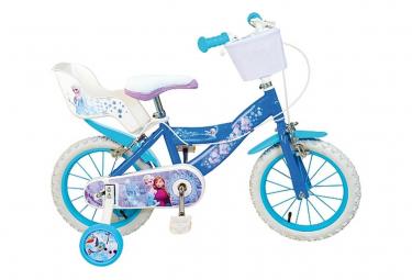 Vélo enfant 16 pouces la Reine des Neiges Licence Officielle Disney Frozen