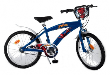 Vélo officiel Spiderman 20 pouces Disney enfant garçon