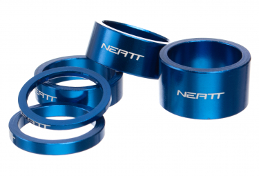 Neatt Kit of Aluminium Spacers (x5) Blue