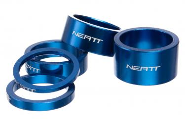 Entretoises de Direction Neatt Aluminium (x5) Bleu