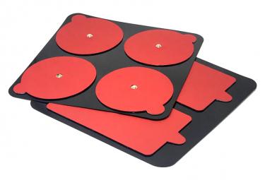 Pack de 6 Électrodes PowerDot Gen 2.0 Rouge