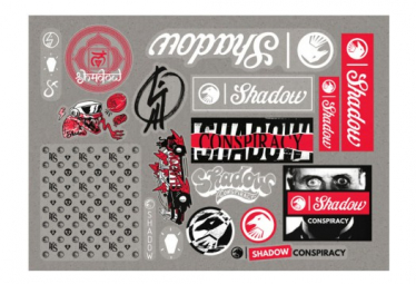The Shadow Conspiracy Pack of Stickers