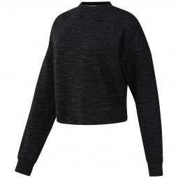 Sweatshirt crop femme Reebok Training Essentials