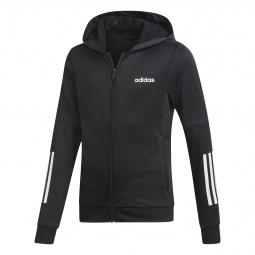 Veste à capuche fille adidas Linear Logo