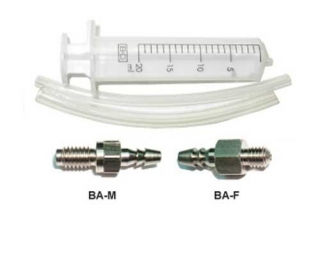 A2Z Universal Bleed Kit syringe 1/2 hoses + Tips