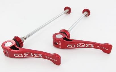 A2z serrages rapides axe cromo rouge